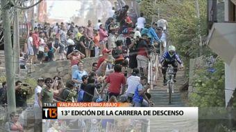 Ciclistas desafiarán cerros de Valparaíso este domingo