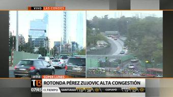 Rotonda Pérez Zujovic asoma como eventual punto conflictivo esta semana