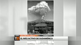Volcán Villarrica: El más activo de Sudamérica