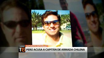 Supuesto espionaje: Perú culpa a capitán de la Armada chilena