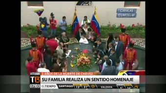 Chávez: Familia realiza homenaje a dos años de su muerte