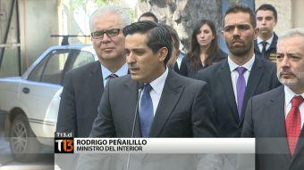 Ministro Peñailillo habla de críticas por Caval