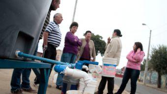 [VIDEO] Así se vivió el corte de agua en las comunas de la zona norte de Santiago