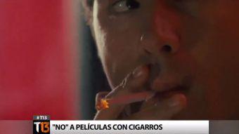 OMS busca que las películas donde salgan personajes fumando no sean aptas para menores de edad