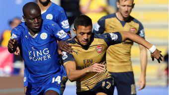 [MINUTO A MINUTO] Desafían al líder: Alexis y Arsenal se enfrentan a Leicester City