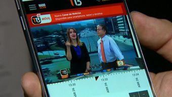 [VIDEO] T13 Móvil, tu primer canal de noticias disponible cuándo y dónde quieras