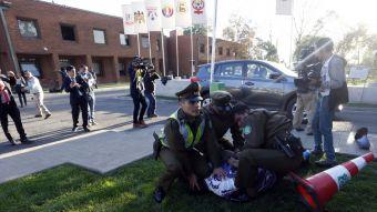 [VIDEO] Hinchas de Concepción protagonizan incidentes tras desafiliación del club