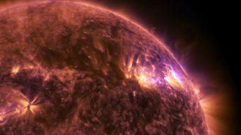 La NASA registra una espectacular erupción solar en 4K