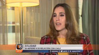 [VIDEO] Soledad está en Chile y dice Vivir es hoy