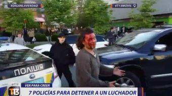[VIDEO] Ver Para Creer: Luchador se enfrenta con siete policías y Deportes Valdivia gana a oscuras