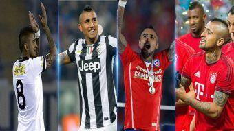 Arturo Vidal multicampeón: los trece títulos que acumula en su exitosa carrera
