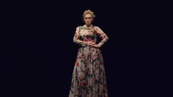Adele se encuentra estrenando videoclip esta semana