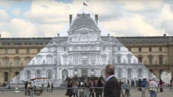 [VIDEO] Fotógrafo hace desaparecer la pirámide del Louvre mediante ilusión óptica