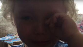 [VIDEO] Pequeña de dos años llora de felicidad al ver la ecografía de su hermanita