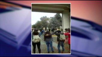Concepción: Universitarios se enfrentan a escolares por uso de campus