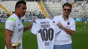 [VIDEO] Nuevo festejo albo: Esteban Paredes renueva por un año en Colo Colo