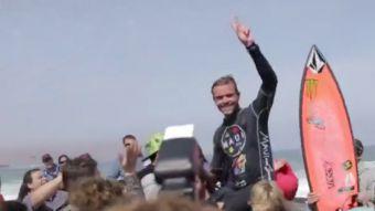 [VIDEO] Primer título para Francia en el Mundial de Surf realizado en Arica