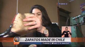 [VIDEO] El nuevo emprendimiento de zapatos Made in Chile