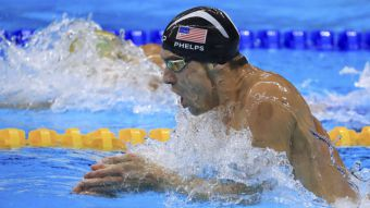 [VIDEO] Medallista olímpico Michael Phelps se encuentra en Chile