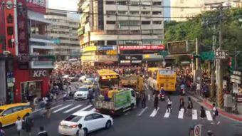 [VIDEO] Pokémon GO: La estampida humana generada por la presencia de un Snorlax en Taiwán