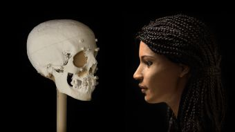 Mujer egipcia momificada hace 2.000 años