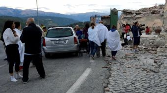 [FOTOS] Las desoladoras postales que deja el terremoto en Italia
