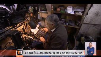 [VIDEO] El difícil momento de las imprentas