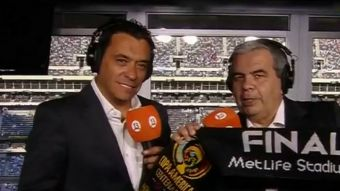 [VIDEO] Dupla Schiappacasse-Palma en Clasificatorias gracias a acuerdo entre Canal 13 y Fox Sports