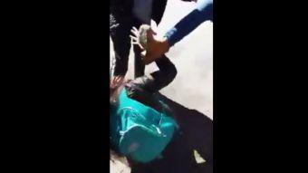 La violenta agresión que afectó a menor de edad en Concepción y que fue difundida en redes sociales