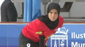 [VIDEO] Jugadoras egipcias con velo llaman la atención en Mundial de Hockey Patín en Iquique
