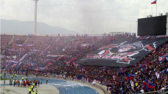 [VIDEO] Así se vivió el banderazo de la U en el Estadio Nacional