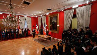 [VIDEO] Así fue el cambio de ministros que anunció la Presidenta Michelle Bachelet