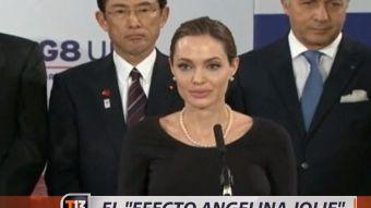 [VIDEO] El efecto Angelina Jolie y el aumento de la mastectomía preventiva