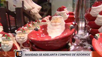 [VIDEO] La venta de adornos navideños se adelanta en barrio Meiggs