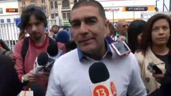 [VIDEO] Leopoldo Méndez vota en Valparaíso: Yo quiero defender a los que no se pueden defender