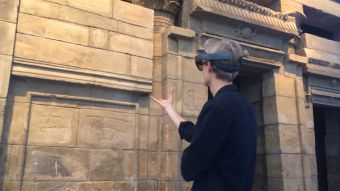 [VIDEO] Templo virtual en Ámsterdam sorprende a sus visitantes