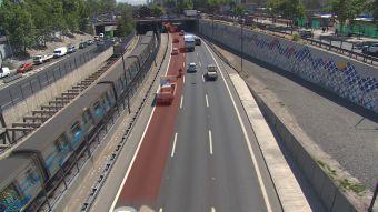 Proyecto de ley busca sancionar el conducir por pista izquierda