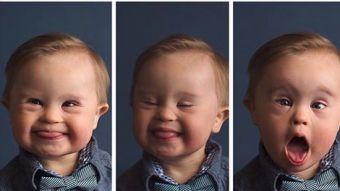 Niño Down fue rechazado por agencia de modelaje, pero la respuesta de su madre cambió el paradigma