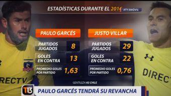 ¿La revancha de Paulo Garcés? Asume el arco albo ante lesión de Justo Villar