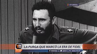 [VIDEO] La purga más importante durante el régimen comunista de Castro