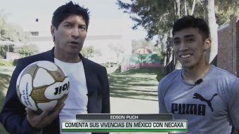 [VIDEO] De goleador a goleador: La entrevista de Iván Zamorano a Edson Puch en México