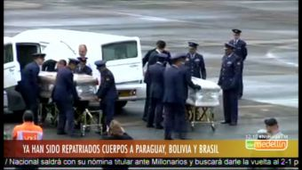 [VIDEO] Las víctimas del Chapecoense regresan a casa