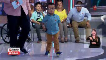 [VIDEO] La gran lección que regaló Vicente Jopia, el Niño Embajador de la Teletón 2016