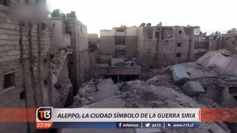 [VIDEO] Aleppo: El corazón de la guerra en Siria