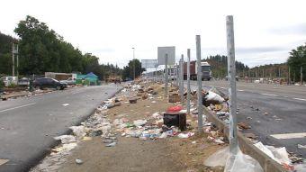 [VIDEO] Peregrinos de Lo Vásquez dejaron cerca de 20 toneladas de basura en la ruta