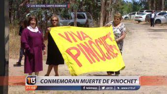 [VIDEO] Así se conmemoraron los 10 años del fallecimiento de Augusto Pinochet