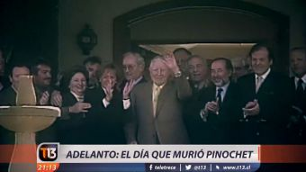 [ADELANTO] El día que murió Pinochet