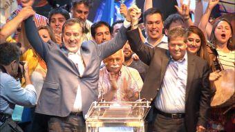 Alejandro Guillier pide libertad a la Nueva Mayoría al votar en primarias