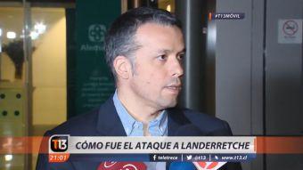 [VIDEO] Así fue el atentado al presidente del consejo directivo de Codelco