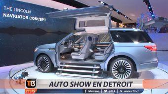 [VIDEO] T13 visita la últimas novedades de autos en la feria automotriz de Detroit